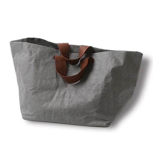 Linen bag RIIJA - grey