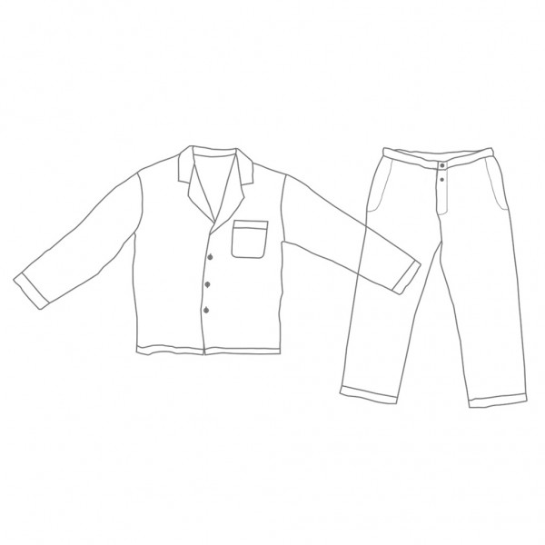Linen Clothing Sketch