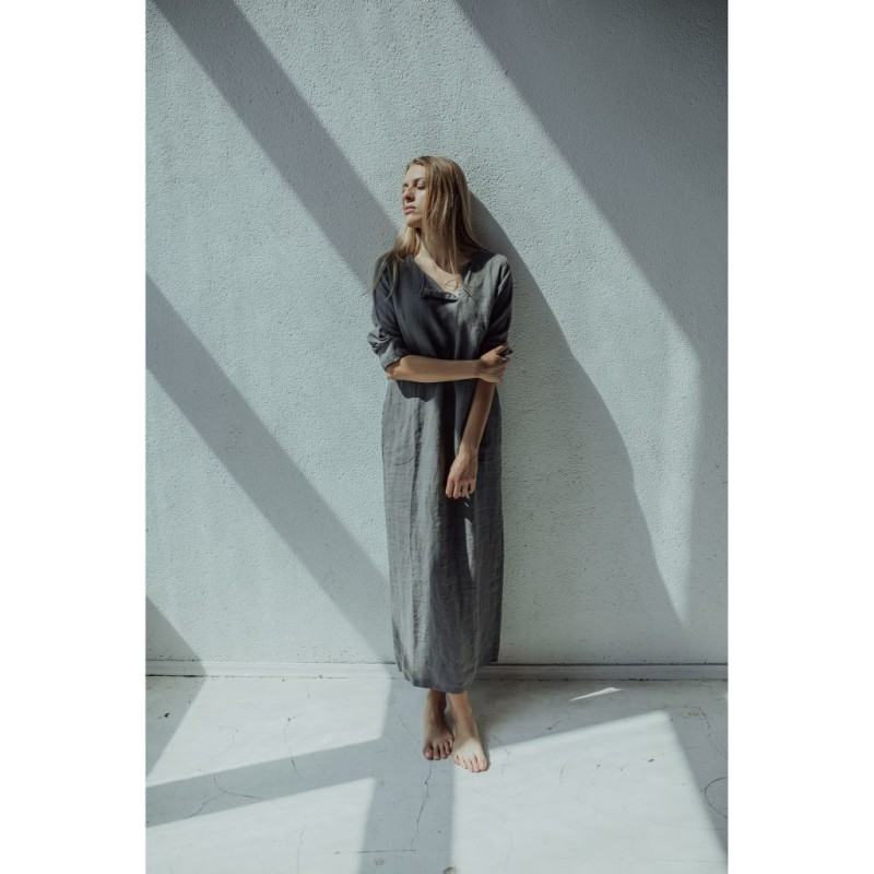 riija-linen-dress-long-gray