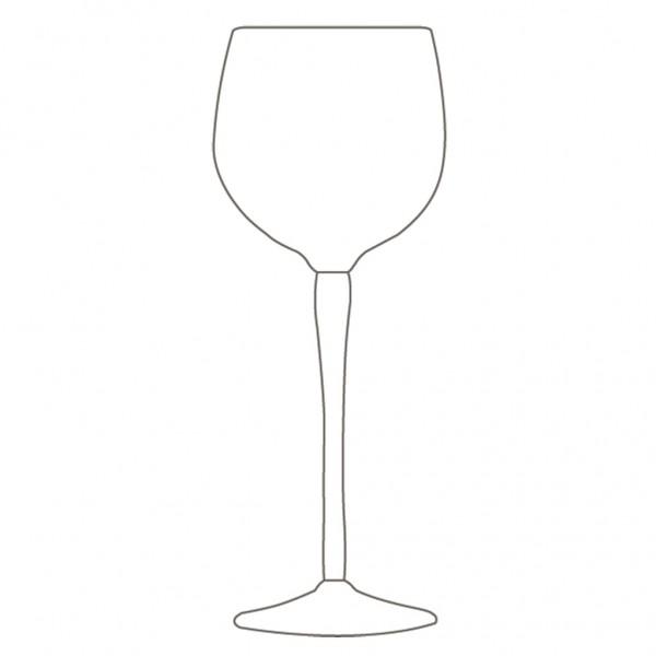 Wine Glass Sketch