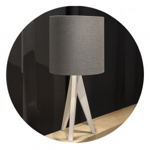 Table Lamp TRIPOD WOOD