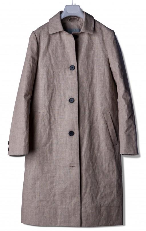 Linen overcoat RIIJA