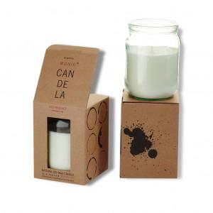 MUNIO candle in a jar