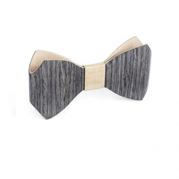 Bug bowtie Grey Oak-L