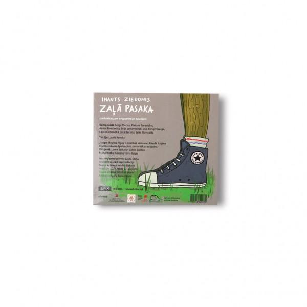 Album Zala Pasaka I.Ziedonis - back