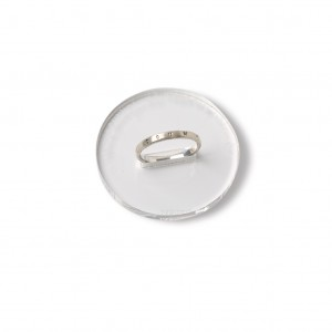 Classic silver ring with Latin inscription