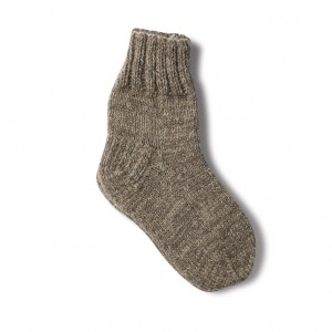 Dog wool socks - grey