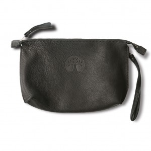L Cosmetic wallet black