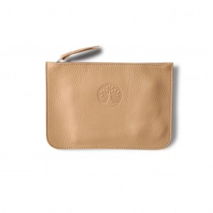 M Cosmetic wallet beige