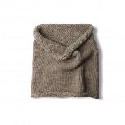 Wool snood - light brown