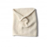 Wool snood - white