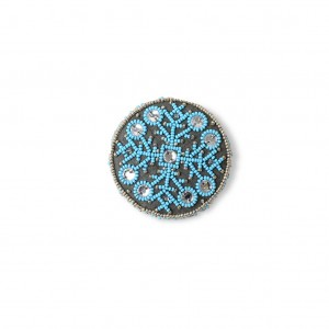 Latvian traditional brooch