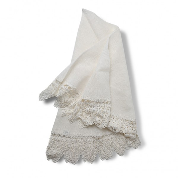 Table cloth white round
