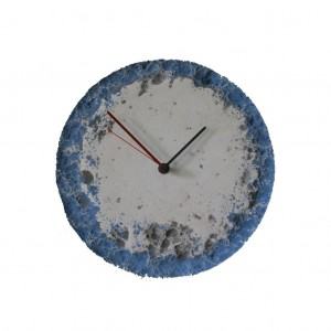 WALL CLOCK BLUE PLANET