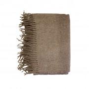 wool scafr brown