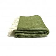 wool-throw-green