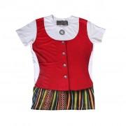 Latvian national costume T-shirt -1