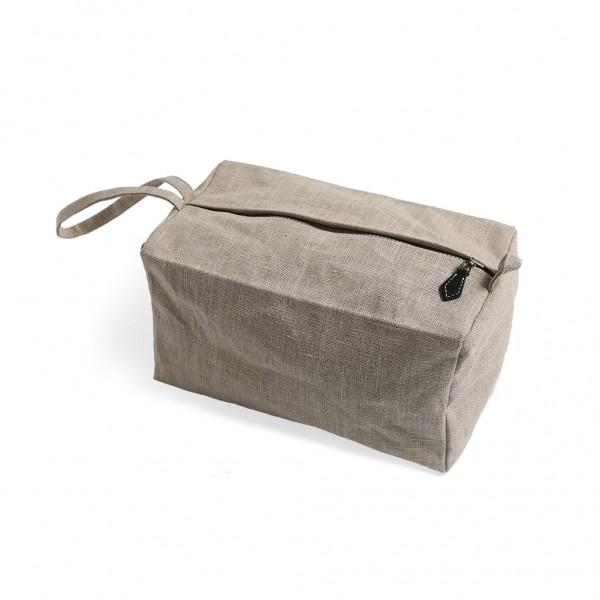linen purse
