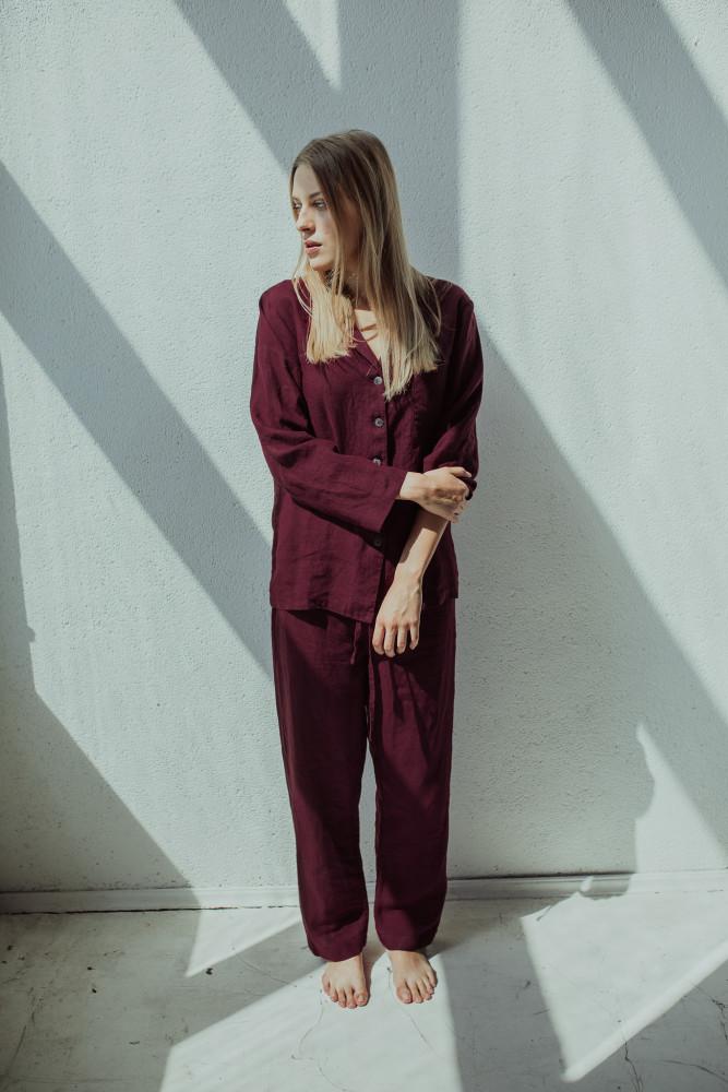 linen-pajama-red-riija