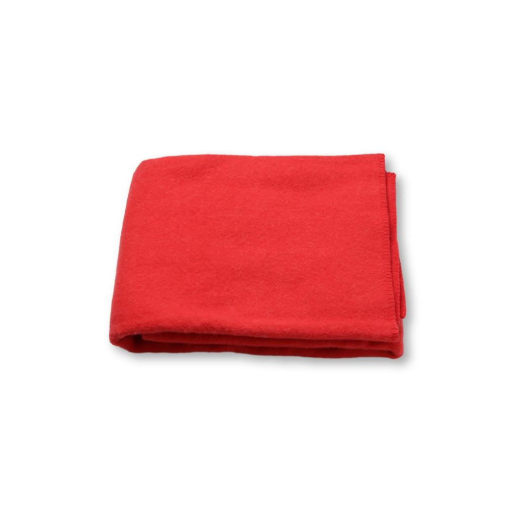 red-wool-blanket